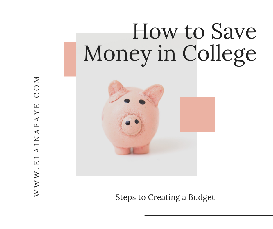 How to save money in college.