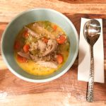 Low FODMAP Chicken and Rice Soup