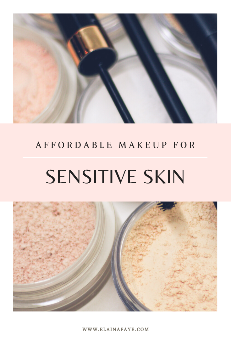 A list of talc-free makeup products for sensitive skin or acne prone skin. All makeup products are under twelve dollars and are...
