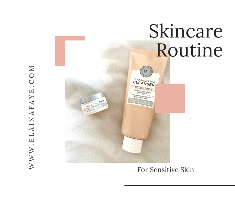 A simple step-by-step guide for building a skincare routine for sensitive skin.