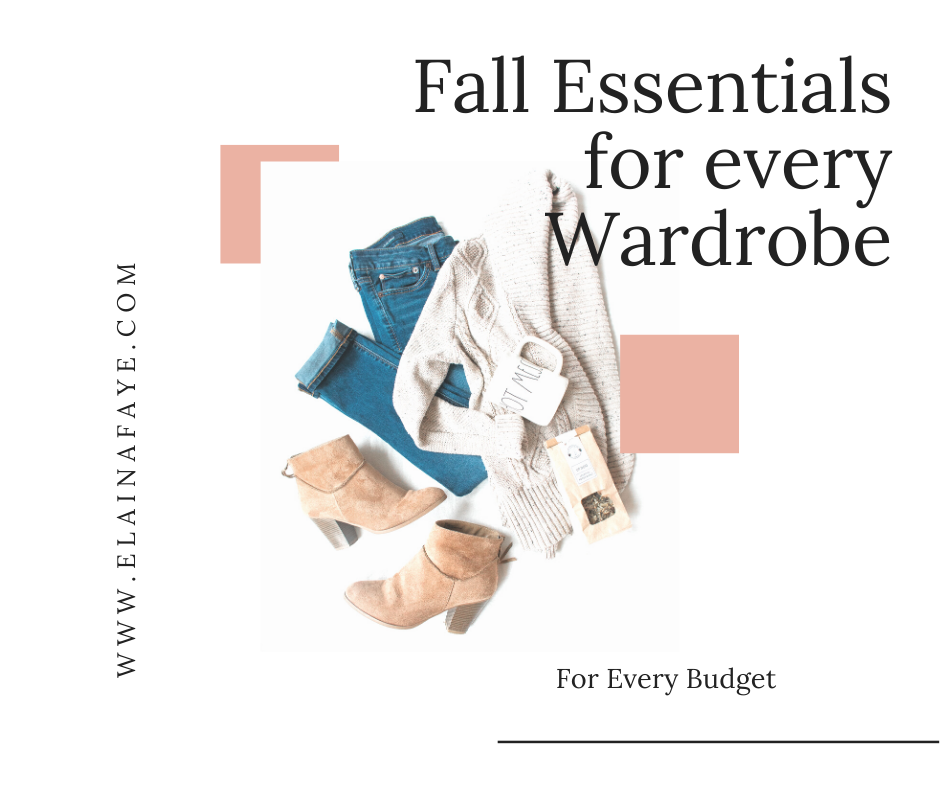 Fall wardrobe essentials with styling tips, affordable sweaters, fall cardigans, shoes,