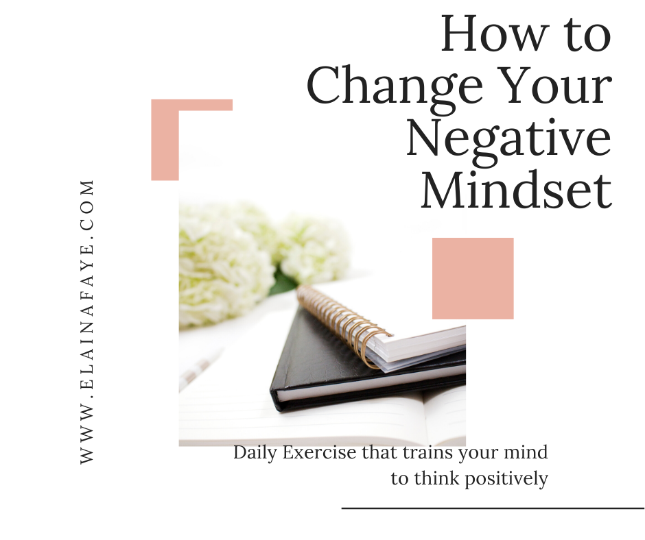 Daily exercise that changes your negative thoughts