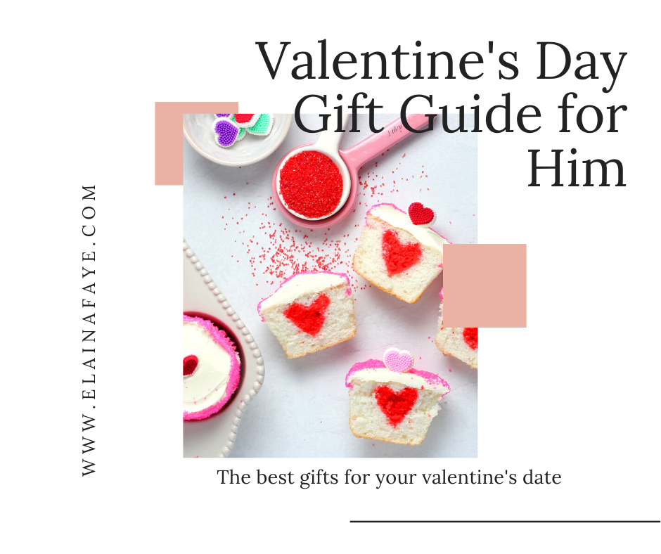 Valentine's Day gift guide for men.
