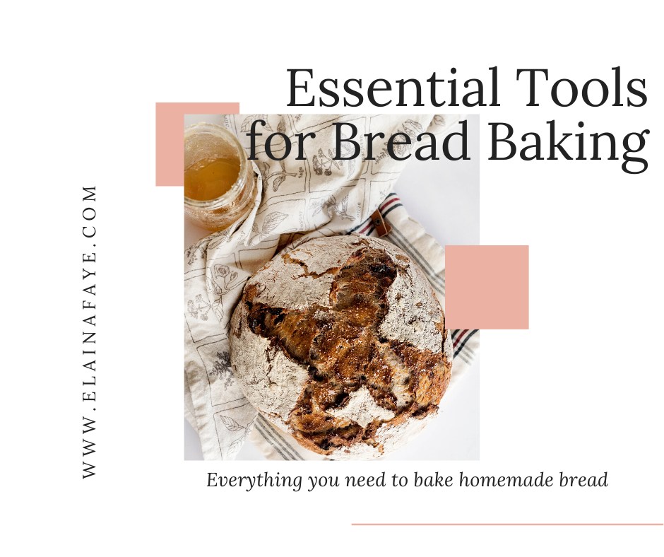 Essential tools you need to make homemade bread. How to bake bread. What you need to bake bread.